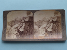 "In "" Mount Lebanon "", At Zahleh Syria ( N° 94 ) Stereo Photo : Underwood & Underwood Publi ( Voir Photo ) ! - Stereoscopic"