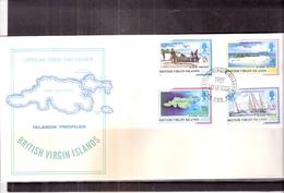 British Virgin Islands - FDC Islands Profiles 1998 - Complete Set (to See) - Iles Vièrges Britanniques