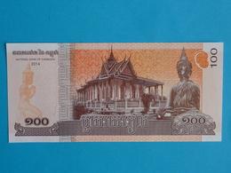 CAMBODGE  100  RIELS  2014 Unc - Cambodia