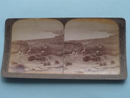 Traditional Bethsaida, Galilee Palestine / Stereo Photo : Underwood & Underwood Publi ( Voir Photo ) ! - Stereoscopic
