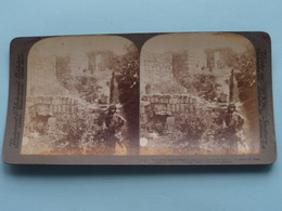 Ruins Of The Home Of Martha, Mary And Lazarus Palestine / Stereo Photo : Underwood & Underwood Publi ( Voir Photo ) ! - Photos Stéréoscopiques