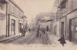 13 / MARSEILLE / SAINT BARNABE / LA GRANDE RUE ET L EGLISE / LACOUR 1093 - Saint Barnabé, Saint Julien, Montolivet