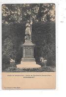 DEP. 88 REMIREMONT - STATUE DE JEANNE D'ARC JARDIN DE L'INSTITUTION JEANNE D'ARC - Remiremont