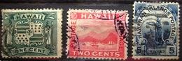 HAWAI                N° 69/71             OBLITERE - Hawaii