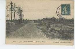 MONTDIDIER - Cimetière Militaire - Montdidier