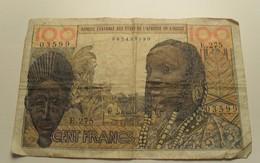 1959 ND - Afrique De L'Ouest - West African States - 100 FRANCS, E.275 - Other - Africa