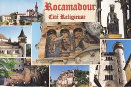 46 ROCAMADOUR / MULTIVUES / CITE RELIGIEUSE - Rocamadour