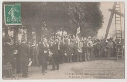 CPA ROUEN Millénaire Normand 1911 - M. LORMIER Félicitant Les Chanteurs Norvégiens - Rouen
