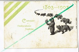 45158 - 1803 1903 CENTENAIRE DE L INDEPENDANCE VAUDOISE - Non Classificati