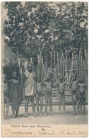 LIBERIA - Native Boys Near  MONROVIA - Liberia