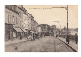 Courbevoie. Rampe Du Pont. Voitures à Chevaux, Tramway. (2515) - Courbevoie