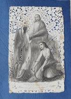 Image  Religieuse, La Moisson Pour L'éternité, Large Bordure En Dentelle - Images Religieuses