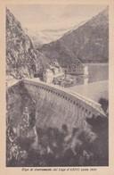 CARTOLINA - POSTCARD - BRESCIA - DIGA DI SBARRAMENTO DEL LAGO D' ARNO - M. 1800 - Brescia