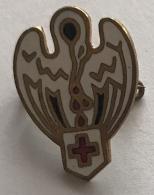 Croix Rouge. Epingle Ancienne. Rood Kruis. Oud Speldje - Médical