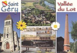 46 SAINT GERY / MULTIVUES / BLASON - France