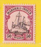 MiNr. 20 X (Falz)  Deutschland Deutsche Kolonie Marshall-Insel - Colony: Marshall Islands