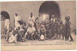 NIGER - Campement De La Ligne D'Etape Kano-ZINDER - Niger