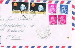 27909. Frontal Aerea PALMA De MALLORCA (Baleares) 1989 A Germany - 1931-Hoy: 2ª República - ... Juan Carlos I