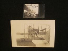 CPA, Photos D'avion Farman MF11, Escadrille MF55 à Vinets, Champagne-Ardenne En 1916, Aviation WW1. - War 1914-18