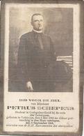 DP. PETRUS SCHEPENS ° VELSICQUE 1885 - + 1918 - STUDENT GOEDSGELEERDHEID BIJ DE ORDE DER  SALESIANEN - Religion & Esotérisme