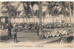 DAHOMEY, COTONOU - Le Marché - Carte En L'état - Dahomey