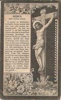DP. GEORIUS VERGAUWEN + GENT 1905 - 74 JAAR - GEWEZEN BURGEMEESTER VAN BERLAERE - Godsdienst & Esoterisme