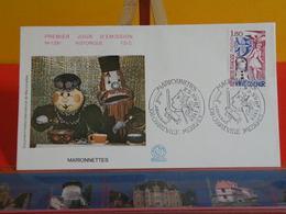 FDC> Les Marionnettes > 25.9.1982 > (08) Charleville Mézières < 1er Jour Coté 3€ - FDC