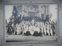 PHOTO ORIGINALE SOUVENIR DE LA MISSION DE COURCITE MAYENNE 19 MARS 1922 - Photographs