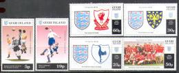 M0869 Sport Soccer Footbal UEFA 1994 Gugh Channel Isl 5v MNH ** 1,89£ - Eurocopa (UEFA)