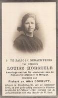 DP. LOUISE HORSEELE - BLANKENBERGHE 1905-1926 - LEERLING 3e STUDIEJAAR NORMAALSCHOOL BRUGGE - Religion & Esotérisme