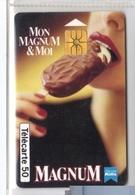 Carta Telefonica Francia - Magnum 12.94  -  Carte Telefoniche@Scheda@Schede@Phonecards@Telecarte@Telefonkarte - 1994