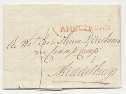 Amsterdam - Middelburg 1815 - Nederland