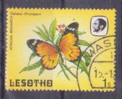 66-764 / LESOTHO  - 1984   BUTTERFLIES   Mi 442 O - Lesotho (1966-...)