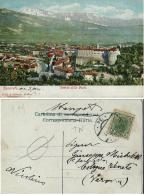 ROVERETO VEDUTA DALLE PORTE 1902 AFFRANCATA AUSTRIA 5 H - Italia