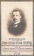 DP. ALOIS DU BUCQ ° ST. DENYS 1890- + UKKEL 1926 -SEDERT 1912 ONDERWIJZER GEMEENTESCHOOL MOEN - Religion & Esotérisme