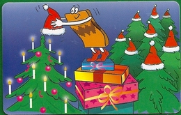 Germany - Die Lustigen Prepaid-Karten 6 - Christmas - M 03-10.2002 - 68.000ex, Used - Deutschland