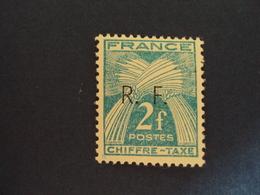 "1943-LIBERATION    "" GIRONDE""    Timbre Taxe Type 1 - N° 16      - Neuf-  Cote     19      - Net    6.15 - Libération"