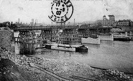 CPA ASNIERES - TRAVAUX DES CONSTRUCTIONS DU PONT DE CLICHY - Asnieres Sur Seine