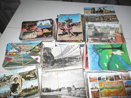 Mise à Prix à 1 Euros.1000 Cartes Postales Diverses. France Etrangere Fantaisies - Postcards
