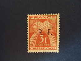 "1943-LIBERATION    "" GIRONDE""    Timbre Taxe Type 1 -  N°  17     - Neuf-  Cote  8         - Net 2.5 - Libération"