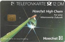 Germany - Hoechst High Chem 7, S 20A-08.91 - 60.000ex, Used - Deutschland