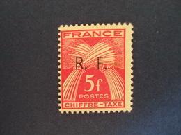 "1943-LIBERATION    "" GIRONDE""    Timbre Taxe Type 1 - N° 18      - Neuf-  Cote     20      - Net   6.5 - Libération"
