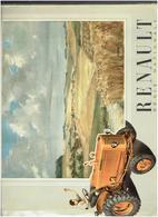 CATALOGUE TRACTEUR AGRICOLE RENAULT 1953 LOT 3 DOCUMENTS REGIE NATIONALE - Tractors