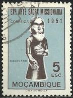 Mozambique Moçambique 1953 Exhibition Of Sacred Missionary Art, Lisbon 1951 - Missionary Canc - Christentum