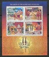 Tonga ** Bloc N° 17 - Chauves-souris - Tonga (1970-...)