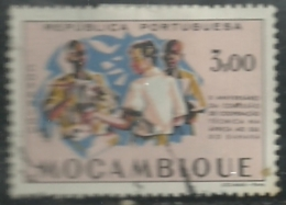 Mozambique Moçambique 1960  10th Anniv Commission For Technical Co-operation Africa South Of The Sahara CCTA Canc - Sciences