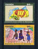 Ruanda 1999 Mi.Nr. 1469/70 Ungestempelt - Rwanda