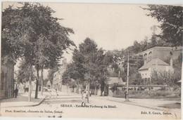 CPA 08 SEDAN Entrée Du Faubourg Du Ménil 1904 - Sedan