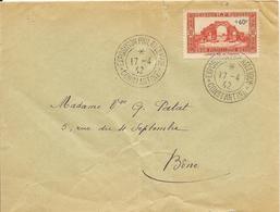 LOT 1803217 - ALGERIE N° 167 SUR LETTRE DE CONSTANTINE DU 17 AVRIL 1942 POUR BONE - EXPOSITION PHILATELIQUE - Algeria (1924-1962)