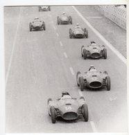 < Auto Voiture Car > Retirage 10x11 De Plaque Photo De Verre F1 Reims 1956 - Reproductions